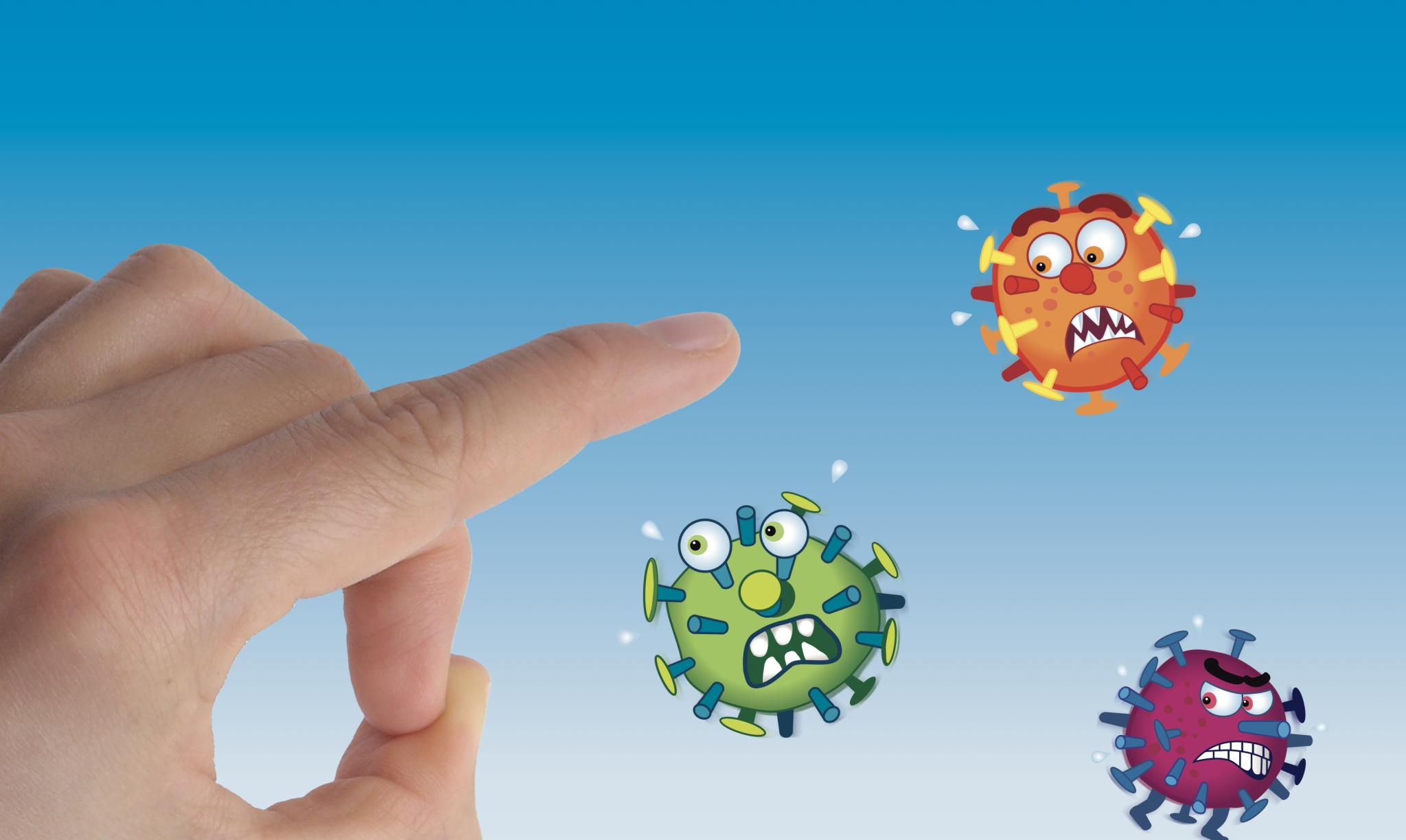 Plakat Grippeschutzimpfung KV Bund