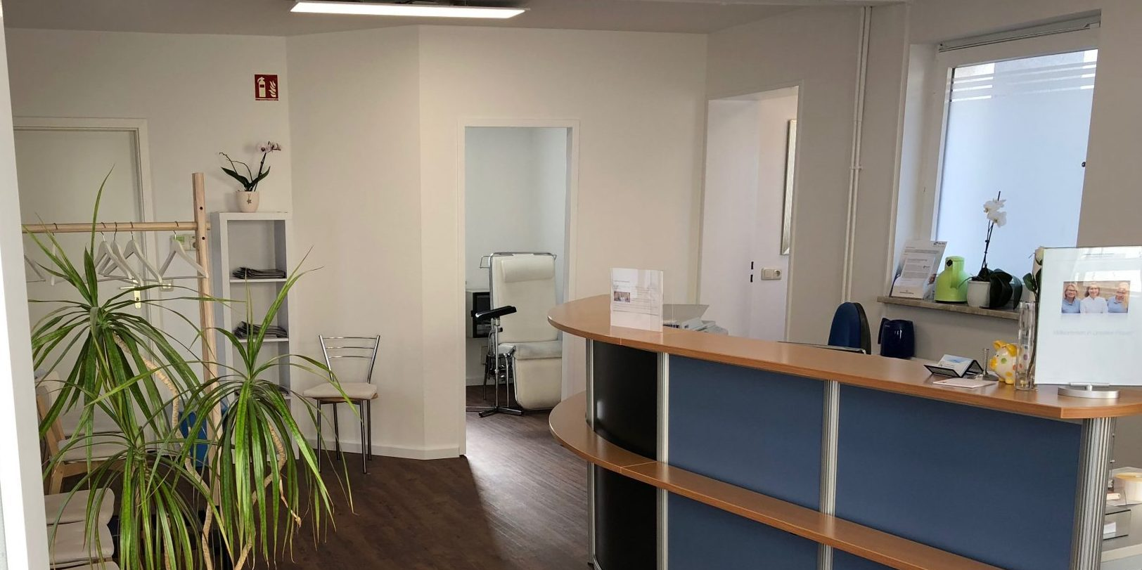 Hausarztpraxis imInnenhof